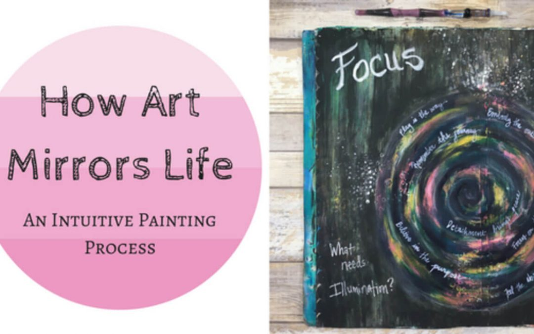 How Art Mirrors Life – An Intuitive Painting Process